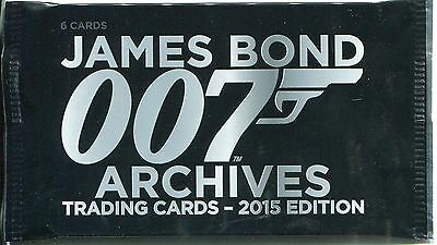 James Bond Archives 2015 Factory Sealed Packet