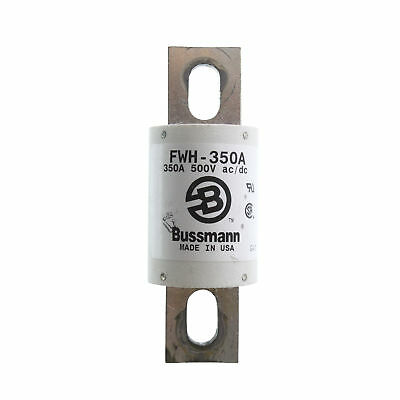Bussman Fwh-350A 500-Volt, Stud Mount High Speed Blade Fuse 350-Amp