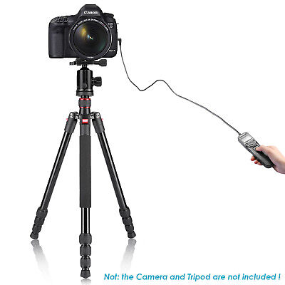 Neewer LCD Timer Shutter Release Remote Control for Canon 700D/T5i, 650D/T4i