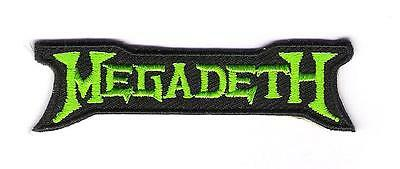 small patch embroidered / petit écusson thermocollant Megadeth