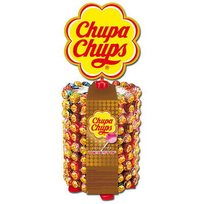 (9,93€/1kg) Chupa Chups The Best Of Lutscher-Rad, Lolly, 200 Stück