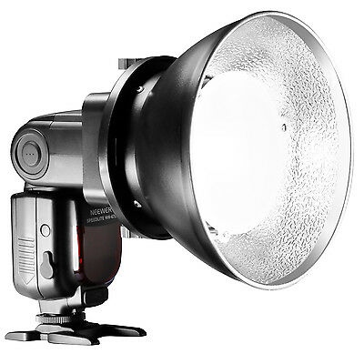 Neewer Beauty Dish Diffuser Lamp Shade with Bowens Mount, Reflectors f Nikon