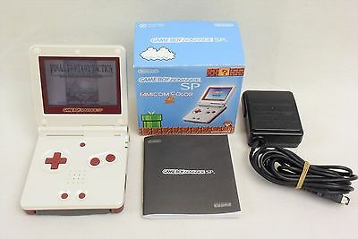 GAME BOY ADVANCE SP Famicom Color Console Boxed AGS-001 Nintendo Gameboy 2005