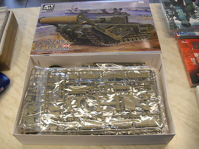 AFV Club Churchill TLC Type A Carpet Laying Devices OVP   Scale 1/35