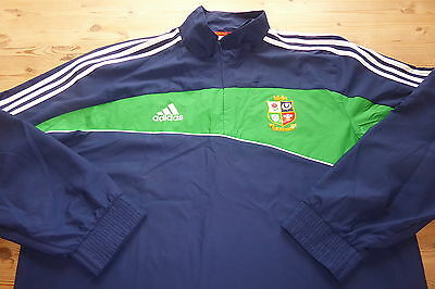 BRITISH LIONS adidas SOUTH AFRICA 2009 RUGBY TRACKSUIT SHELL JACKET TOP LARGE