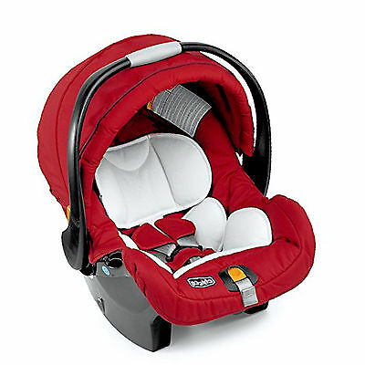 New Chicco Group 0+ Car Seat Infant Carrier Baby Carseat Red