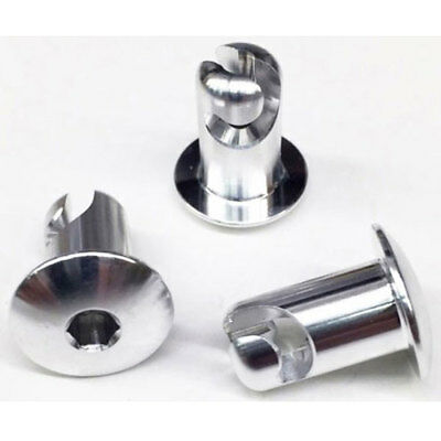 Collector Tethers 4010-550D Quarter-Turn Hex Fasteners Head: Standard Dome Style