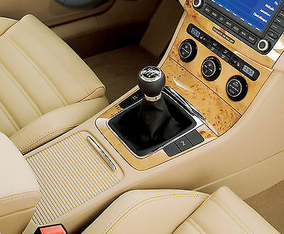 Leather Gear Shift Gaiter Cover Sleeve fit VW Passat B6