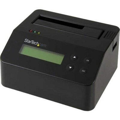 NEW Startech SDOCK1EU3P Drive Eraser and Dock for 2.5 / 3.5in SATA SSD HDD USB