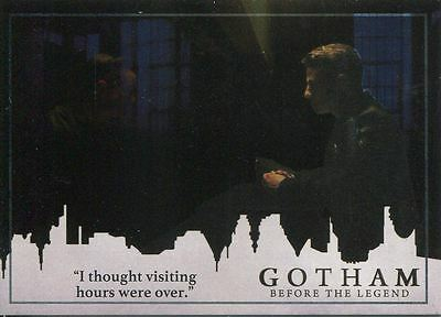 Gotham Season 2 Foil Parallel Base Card #33 ?I thought visiting hours were over