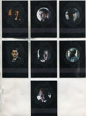 Gotham Season 2 Complete Foil New Day Dark Knight Chase Card Set ND1-7