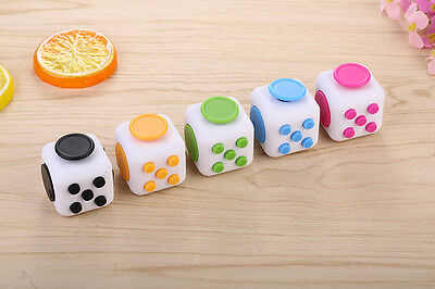 Magic Fidget Cube Anxiety Stress Relief Focus 6-side Gift For Adults & Child New