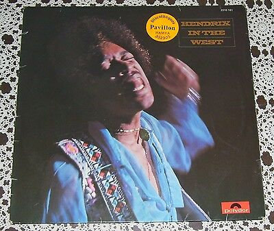 Jimi Hendrix MEGA RARE Lebanese LP In The West VG+ Mitch Mitchell Billy Cox