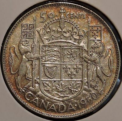 Canada Half Dollar - 1950 - King George VI - $1 Unlimited Shipping