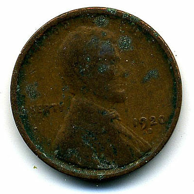 1920 D Wheat Penny 1 Cent Key Date Us Circulated One Lincoln Rare Coin U.s #3245