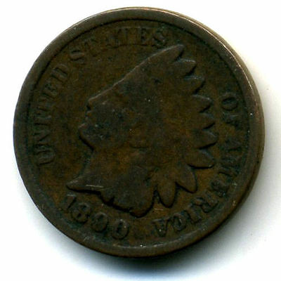 1890 P INDIAN HEAD PENNY 1 Cent KEY DATE U.S CIRCULATED ONE RARE NICE COIN#150