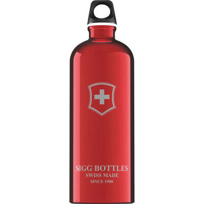 Sigg Swiss Emblem 1.0l Unisex Accessory Water Bottle - Red One Size