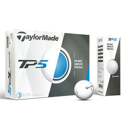 2017 Taylormade Tp5 Or Tp5X White Golf Balls - 12 Pack