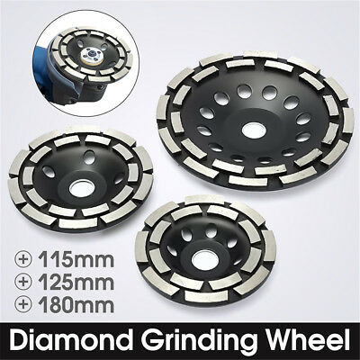 Diamond Grinding Disc Double Row Millstone Brick Concrete Cut For Angle Grinder