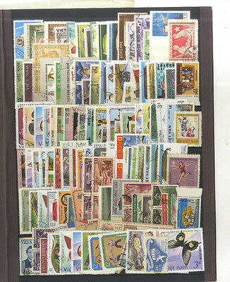 Lot 135 Timbres Anciens Viet Nam Chine Asie Asia