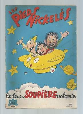 Les Pieds Nickeles N°48 . Eo . 1961 . Tbe .
