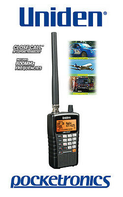 Uniden UBC126AT Portable Digital Radio Scanner Sports/Aviation/Emergency/CFA NEW