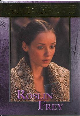 Game Of Thrones Season 3 Gold Parallel Base Card  84 Roslin Frey