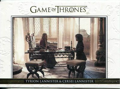 Game Of Thrones Season 3 Relationships Gold Parallel DL01 Tyrion Lannister and