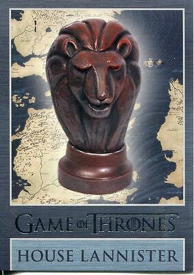 Game Of Thrones Season 3 Map Marker Sigil Chase Card  MM1 Lannister
