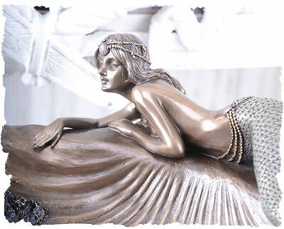 Art Nouveau Bowl Mermaid Mermaid Vintage Figure