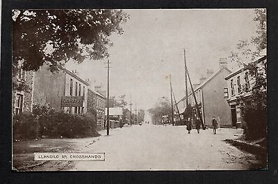 Crosshands - Llandilo Road - printed postcard