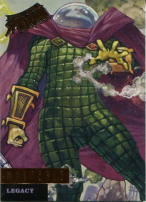 Spiderman Fleer Ultra 2017 Legacy Chase Card L9 Mysterio