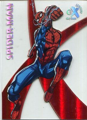 Spiderman Fleer Ultra 2017 EX Century Chase Card EX42 Spider Man