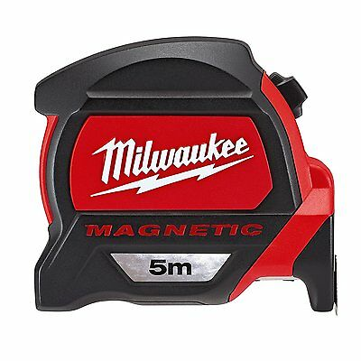Milwaukee 48227305 Premium Magnetic Tape Measure Red/Black