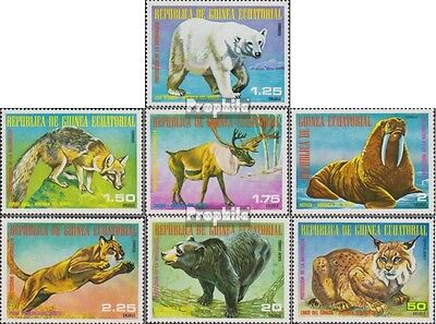 Equatorial Guinea 1239-1245 unmounted mint / never hinged 1977 north american An