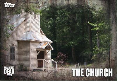 Walking Dead Season 5 Locations Chase Card L-2 The Church