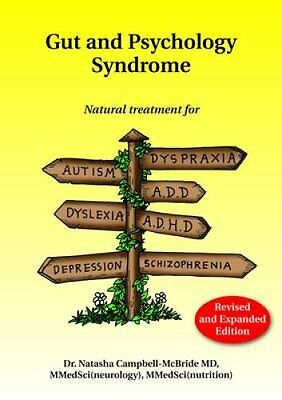 Gut and Psychology Syndrome Natural Treatment for Autism, ADD/A... 9780954852023