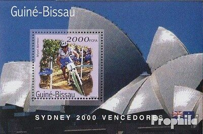 Guinea-Bissau Block305 unmounted mint / never hinged 2001 Medalists Olympia 2000
