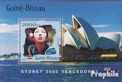 Guinea-Bissau block311 unmounted mint / never hinged 2001 Medalists Olympia 2000