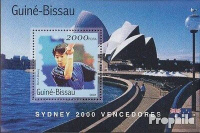 Guinea-Bissau block313 unmounted mint / never hinged 2001 Medalists Olympia 2000