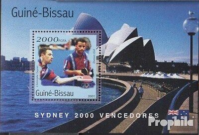 Guinea-Bissau Block314 unmounted mint / never hinged 2001 Medalists Olympia 2000