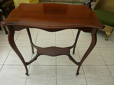 Antique Mahogany Bijouterie  Display Occasional Table
