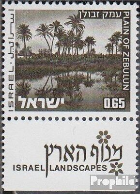Israel 599y with Tab unmounted mint / never hinged 1973 Landscapes