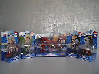 Disney Infinity 2.0 - Marvel Super Heroes The Avengers 5er-Set  - NEU & OVP