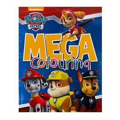Licensed Nickelodeon Paw Patrol Mega Colouring Nickelodeon Book - 96 Pages
