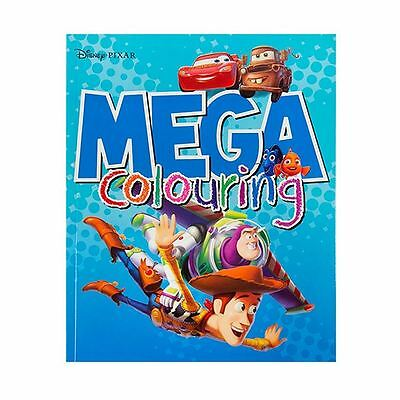 Licensed Disney Pixar Mega Colouring Book - 96 Pages To Colour