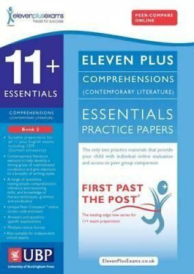 11+ Essentials Comprehensions (Contemporary) for CEM: Book 2 9781908684486