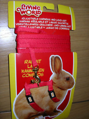 Hagen Living World Adjustable Rabbit Harness & Lead Set