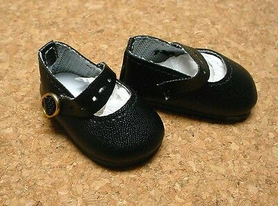 Doll Shoes Kish 4 seasons 64mm NAVY Classic Ankle Straps fit MSD BJDs