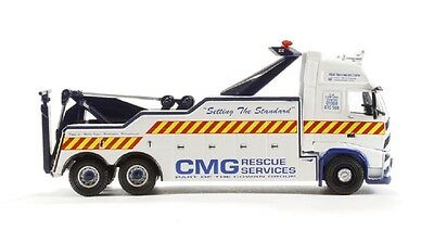 Oxford Diecast 1/76 CMG Rescue Service Volvo FH Heavy Recovery Wrecker Tow Truck